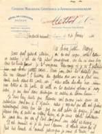 SAÏGON - 1911 - Grands Magasins Généraux D'Approvisionnement - Vieux Papiers
