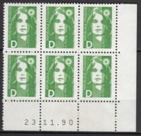 N° 2711 - X X - Daté 23/11/90 - 1990-1999