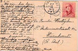 """OLYMPIC GAMES ANTWERP 1920 :ZK PZ (B) """"GENT 3 / GAND 3 / 18.IX.1920"""" +"""" VII° OLYMPIADE / ANTWERPEN 1920 ANVERS"""" - Zomer 1920: Antwerpen"""
