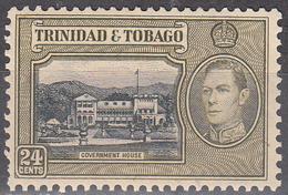 TRINIDAD AND TOBAGO      SCOTT NO.  58      MINT HINGED       YEAR 1938 - Trindad & Tobago (...-1961)