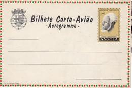 "Portugal 1964 Angola Aerogramme, Air Letter H&G FG33 MINT ""Industrial School"" IX - Angola"