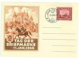CIP 23 - 208 SIBIU, Philatelic Exibition - Cover - Used - 1942 - 1918-1948 Ferdinand, Charles II & Michael