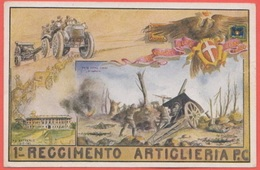Artiglieria Pesante Campale 1° Reggimento Battaglia Pria Forà - Régiments
