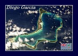 Diego Garcia Satellite View New Postcard - Ansichtskarten