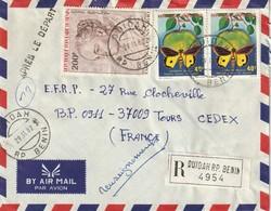 BENIN - Lettre Avec Timbres - - Bénin – Dahomey (1960-...)