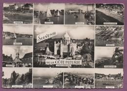 Souvenir De La Côte Fleurie - Multivues - Frankreich