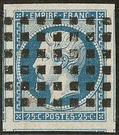 Oblitérations. Gros Points. No 15, Cinq Voisins, Superbe - 1853-1860 Napoléon III