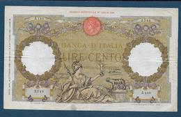 ITALIE - 100 L  Du 16 Ottobre 1935 - [ 1] …-1946 : Kingdom