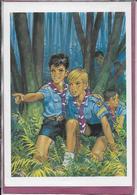 LOUVETEAUX En Forêt  ( Dessin De Pierre Joubert ) - Scouting