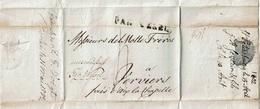 """L. De ST PETERSBOURG Du 15 Avril 1802 Acheminée à BERLIN Puis VERVIERS """"PAR WESEL"""" + Port """"4"""" - ...-1857 Voorfilatelie"""