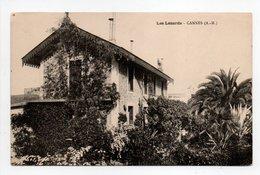 - CPA CANNES (06) - Villa Les Lézards - - Cannes