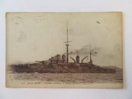 CPA N°536 - JEAN-BART - Cuirassé à Turbines (Marine Militaire Française) - Carte Circulée - Krieg