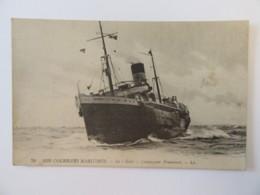 "CPA N°79 - Nos Courriers Maritimes - Le ""GOLO"", Compagnie Fraissinet - Carte Non-circulée - Paquebots"