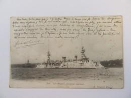 """CPA N°501 - Le """"BRUIX"""", Croiseur-Cuirassé - Carte Circulée En Avril 1904 - Krieg"""