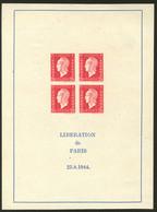 (*) Dulac. No 4. - TB. - R - Blocs & Feuillets