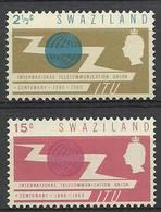 Swaziland 1965 Mi 115-116 MNH ( ZS6 SWZ115-116 ) - Organisaties