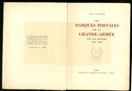 """Les MP De La Grande Armée 1805-1808"", Par De Franck, éd. 1948, Broché. - TB - Littérature"