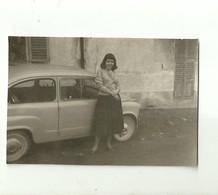 """3520 """"IN POSA DAVANTI ALLA 600 PORTE CONTROVENTO-1958"""" ORIGINALE - Automobili"""