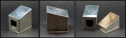 """Distributeur De Roulettes. Modèle En Argent Marqué """"Black Starr Gorham"""", Poids 50g, 40x35x45mm. - TB. - R - Stamp Boxes"""