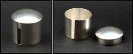 Distributeur De Roulettes. Modèle En Argent, Marqué Doskow Sterling, Diam.30 X 30mm. - TB (1e Pièce Signalée) - Stamp Boxes