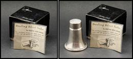 """Humidificateur En Argent De La Maison """"Duchin Création"""", Dans Sa Boîte D'origine Avec étiquette D'utilisation, Poinçons, - Stamp Boxes"""