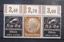 """Allemagne  """"Se Tenant """" Publicité KA-BE  Timbre N** (Charnière Sur Les Publicités) - Se-Tenant"""