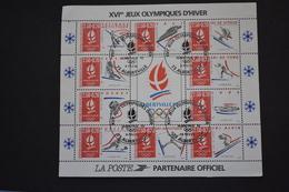 France - 1992 Albertville 92 Jeux Olympiques D'hiver BF N° 14 Oblitéré - Sheetlets
