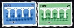 Ireland 1984 Europa Set Of 2, MNH, SG 588/9 - 1949-... République D'Irlande