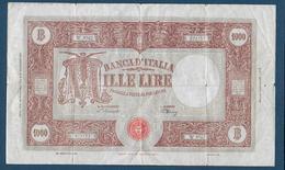 ITALIE - 1000 L  Du 22 Novenbre 1947 - [ 2] 1946-… : République
