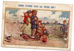 Tarjeta Postal Inlgaterra , Circulada. - Inglaterra