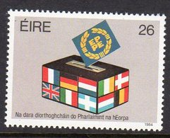 Ireland 1984 European Elections, MNH, SG 590 - 1949-... République D'Irlande