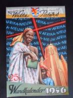 Belgie 1956 Wandkalender Nieuw Afrika Witte Paters, Per Week, Mooie Foto's Form. 16,5 X 24,5 Cm - Big : 1941-60