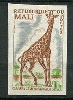 Mali ** ND N° 75 - Girafe - Mali (1959-...)