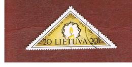 LITUANIA (LITHUANIA)   - SG 486   -        1991  50^ ANNIVERSARY OF RESISTANCE  -   USED - Lituania