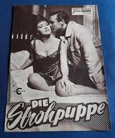 """Gina Lollobrigida, Sean Connery, Ralph Richardson > """"Die Strohpuppe"""" > Altes NFP-Filmprogramm '1964 (fp420) - Zeitschriften"""