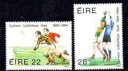 Ireland 1984 GAA Centenary Set Of 2, MNH, SG 595/6 - 1949-... République D'Irlande