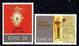 Ireland 1984 Anniversaries Set Of 2, MNH, SG 597/8 - 1949-... République D'Irlande