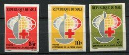 Mali ** ND N° 54 à 56 - Croix Rouge - Mali (1959-...)