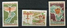 Mali ** ND N° 60 à 62 - Criquet - Malí (1959-...)