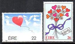 Ireland 1985 Greetings Stamps Set Of 2, MNH, SG 603/4 - 1949-... République D'Irlande