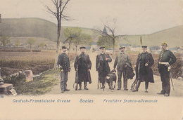 SAALES  Frontière Franco-allemande - Customs