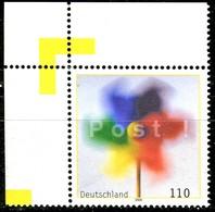 A13-25-4) BRD - Mi 2106 ECKE LIO - ** Postfrisch (A) - 110Pf       Post Grußmarke - [7] República Federal