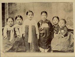 ENFANTS COREENS COREAN KIDS COREA KOREA COREE EAST ASIA  12 * 10 CM Fonds Victor FORBIN 1864-1947 - Fotos