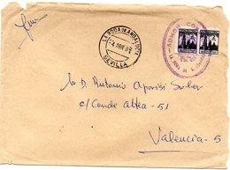 Carta  Con Matasellos La Roda De Andalucia (sevilla) Y  Con Sellos De Mutualidad Postal. - 1931-Hoy: 2ª República - ... Juan Carlos I