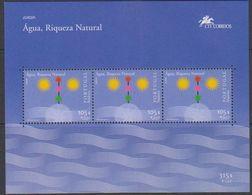 Europa Cept 2001 Madeira M/s ** Mnh (42732) @ Face - 2001
