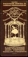 SZÁMOLÓ CÉDULA 1910-20. Cca. Régi Reklám Grafika , Pischinger - Vieux Papiers