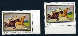 11979. Festmények 3Ft Hiányos Arany Nyomással, érdekesség!  /  Paintings 3 Ft Faulty Gold Print, Interesting - Hongrie