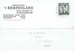 PK Publicitaire LEOPOLDSBURG 1959 - 't KEMPENLAND - Groothandel - Leopoldsburg