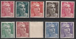 Année 1945/47 - N° 712 à 724 - Marianne De Gandon - 19 Valeurs - Neufs Cote 16 € - 1945-54 Maríanne De Gandon
