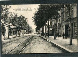CPA - RENNES - Avenue Jean Janvier (Ancienne Avenue De La Gare), Animé - Rennes